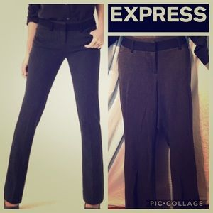 Express Editor Mid Rise Boot Cut Pants